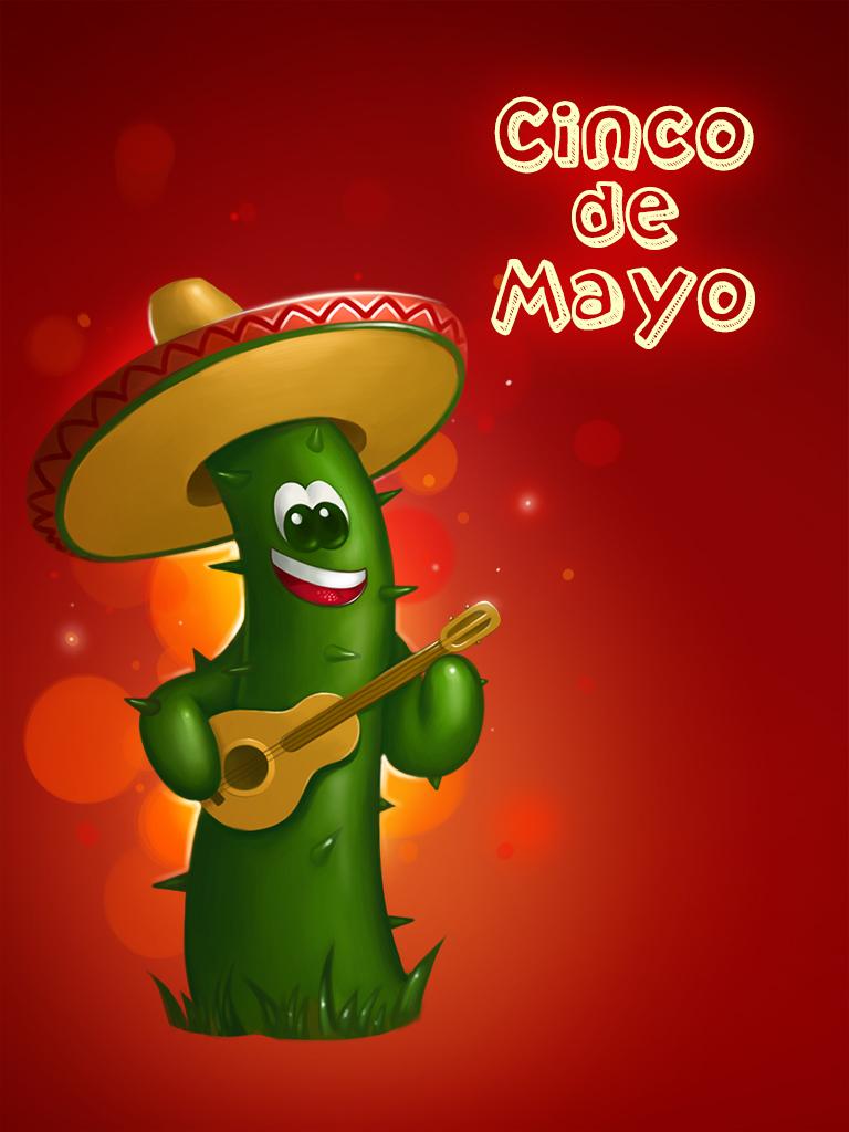 Cico de Mayo Cactus Amigo