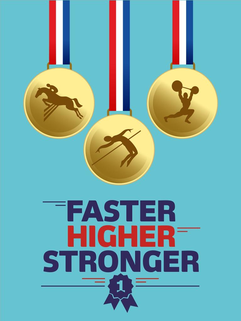 Faster Higher Stronger2