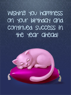 Success Kitten