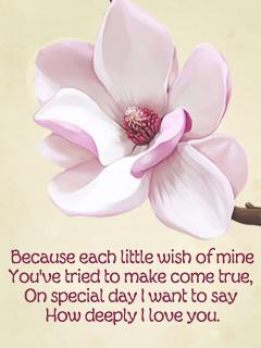 Each Little Wish of Mine