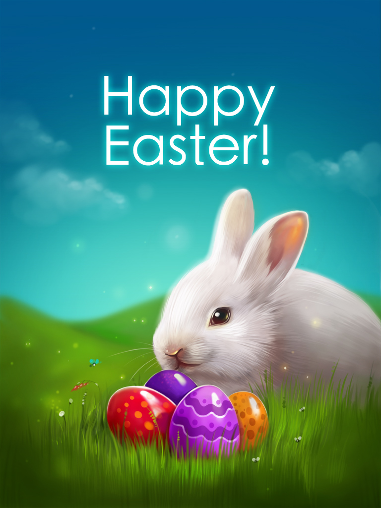 Peaceful Easter Bunny