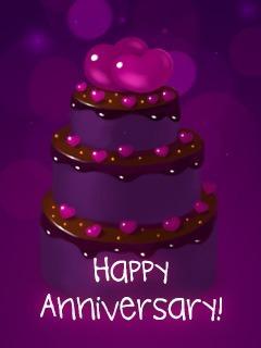 Anniversary Chocolate Cake