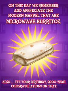 Microwave Burrito