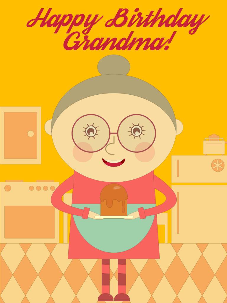 Happy Birthday Grandma!