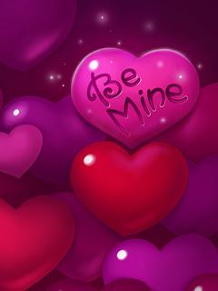Be Mine Hearts