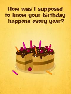 Birthday Every Year