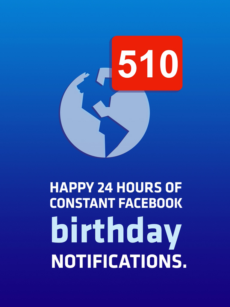 Birthday notifications
