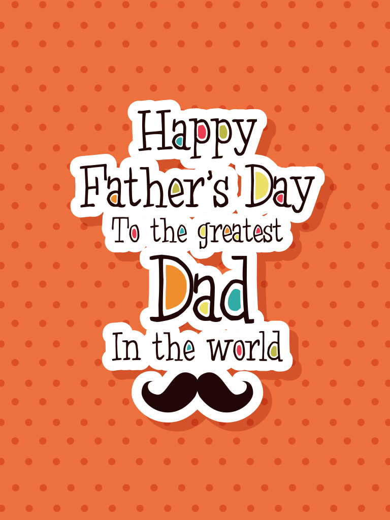 To the greatest dad