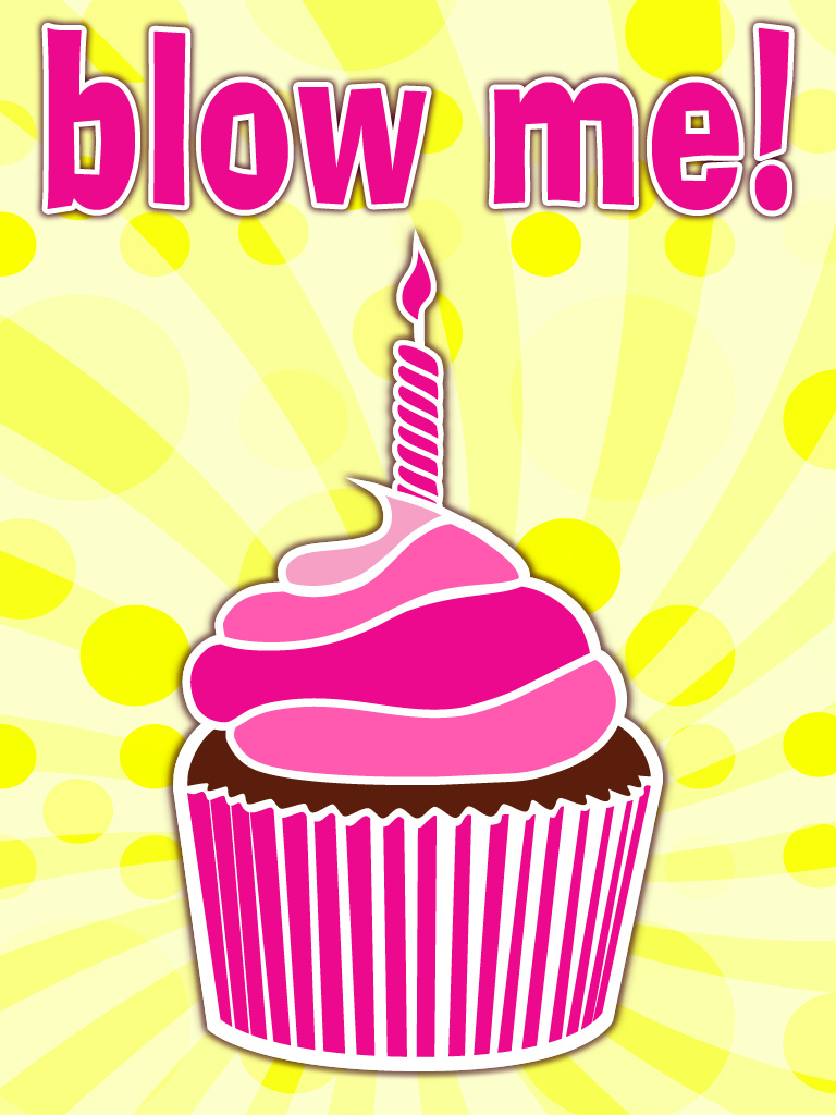 cupcake blow me