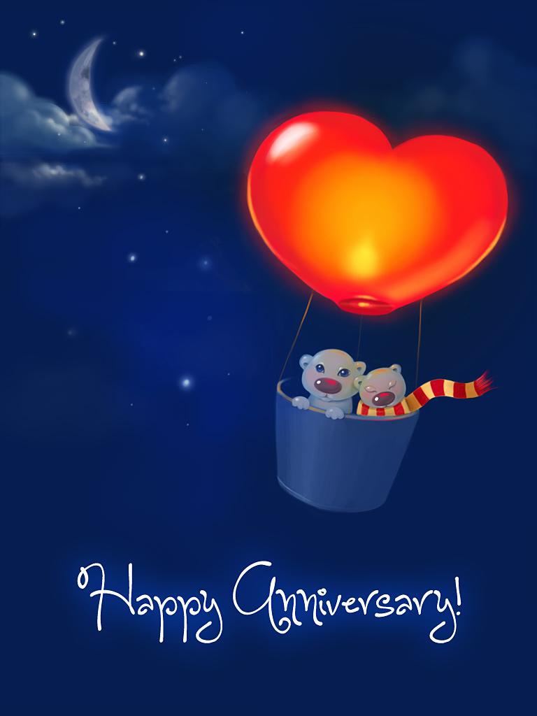 Anniversary Hot Air Balloon
