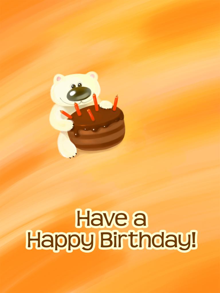 Cuddly Bear Cake