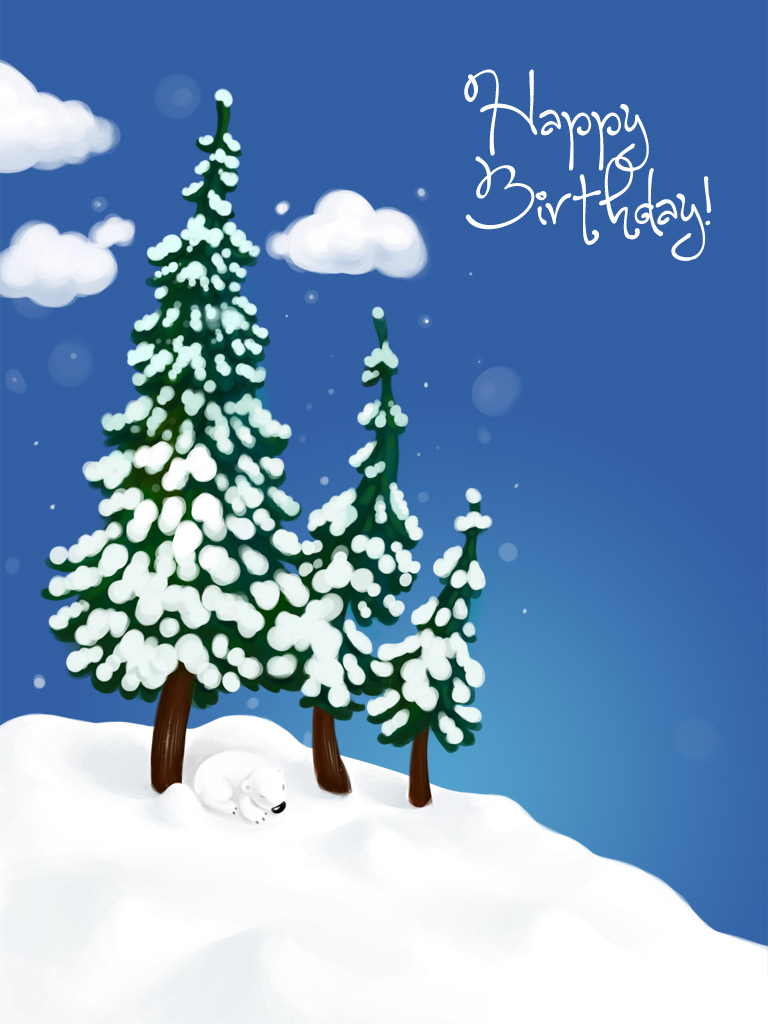 Winter Birthday