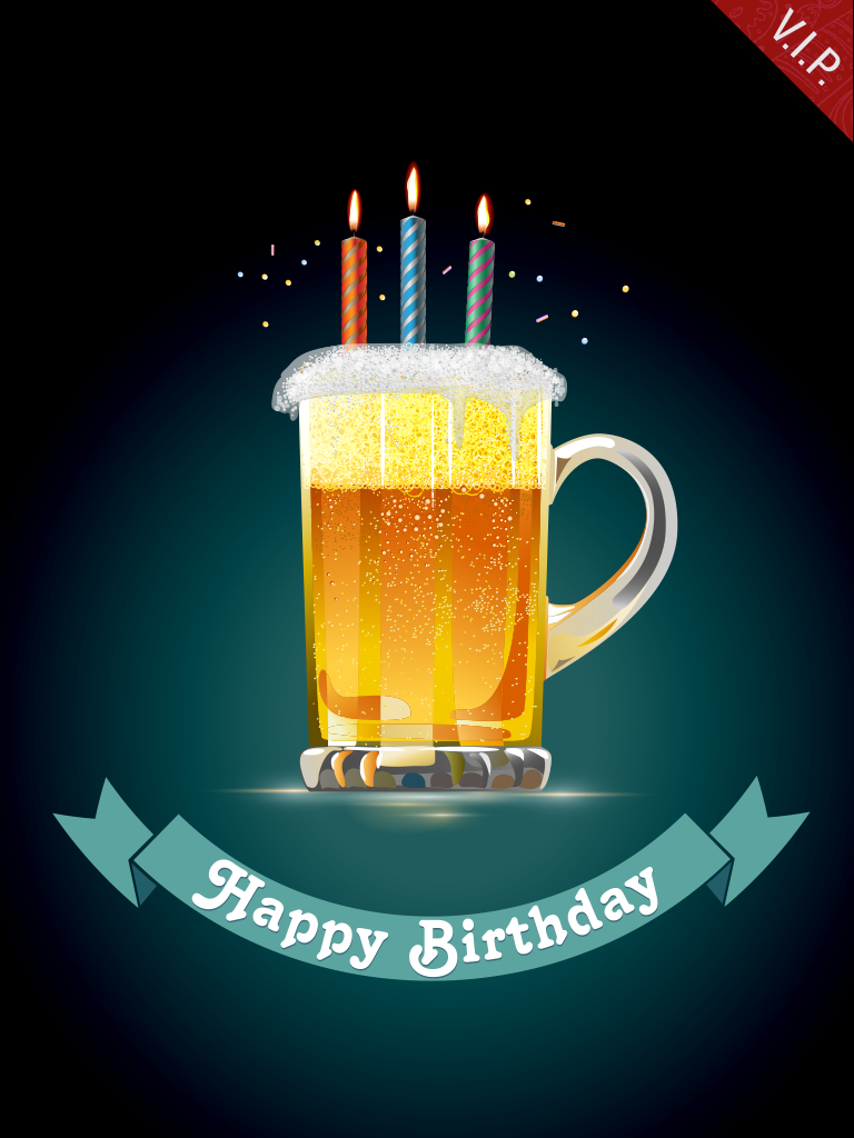 Happy BEERthday!