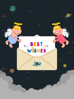 Best Wishes with Angels