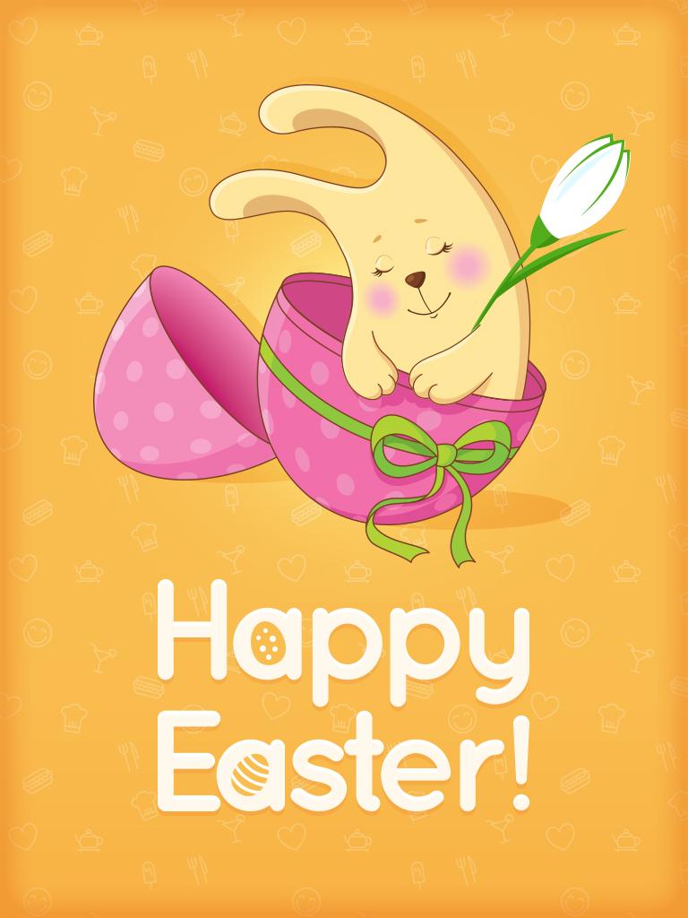 Sleepy Easter Bunny
