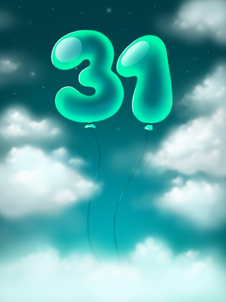 Happy Birthday. 31