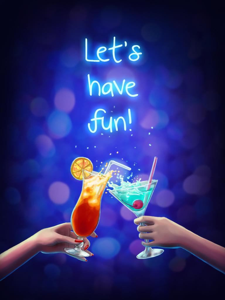 Have fun card